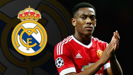 Anthony Martial menuju Real Madrid? - INDOSPORT