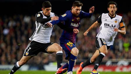 Valencia vs Barcelona. - INDOSPORT