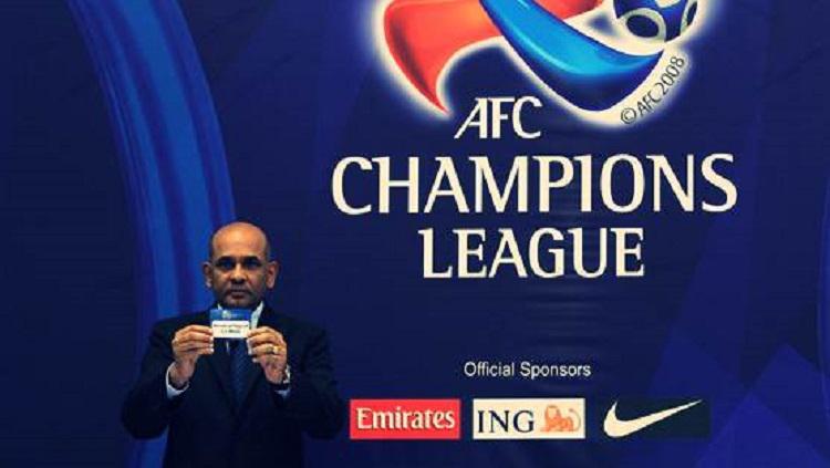 Drawing Liga Champions Asia Copyright: AFC