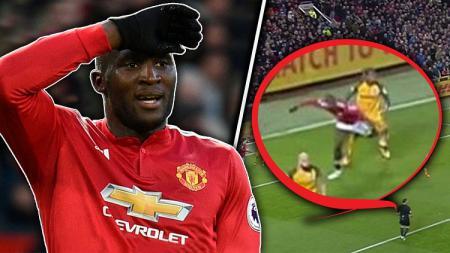 Romelu Lukaku terbebas dari sanksi tiga pertandingan oleh FA. - INDOSPORT