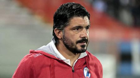 Gennaro Gattuso saat masih melatih AC Pisa 1909. - INDOSPORT
