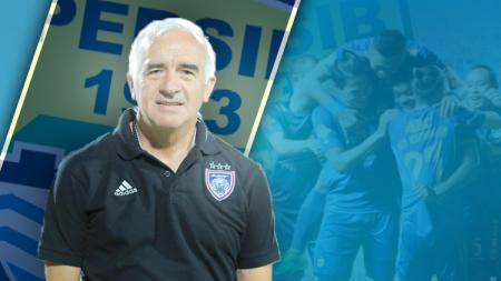 Pelatih baru Persib Bandung, Roberto Carlos Mario Gomez. - INDOSPORT