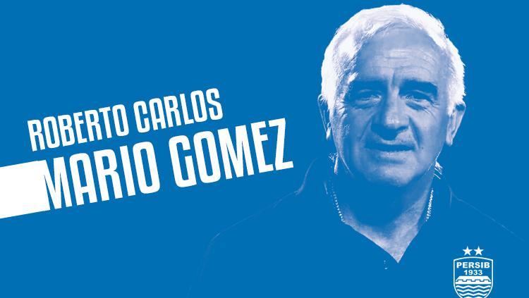 Roberto Carlos Mario Gomez pelatih baru Persib Bandung. Copyright: Grafis: Eli Suhaeli/INDOSPORT
