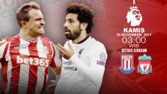 Indosport - Prediksi Stoke City vs Liverpool.
