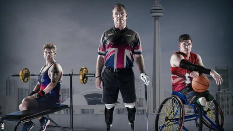 Invictus Games didirikan untuk para prajurit yang terluka dan sakit. Copyright: BBC