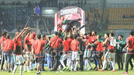 Persebaya Surabaya juara Liga 2 2017. - INDOSPORT
