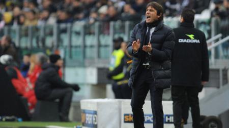 Antonio Conte saat masih menjadi pelatih Juventus. - INDOSPORT
