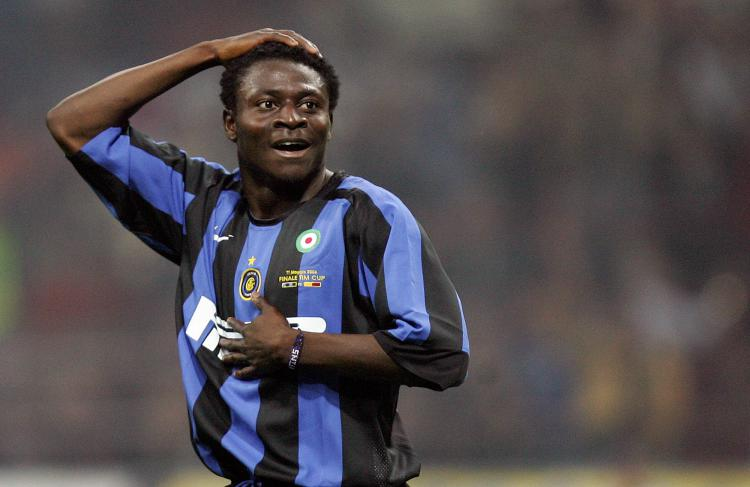 Obafemi Martins saat memperkuat Inter Milan Copyright: Getty Image