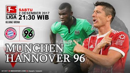 Prediksi Bayern Munchen vc Hannover 96 - INDOSPORT