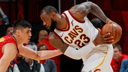 Atlanta Hawks vs Cleveland Cavaliers. - INDOSPORT