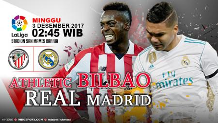 Prediksi Athletic Bilbao vs Real Madrid - INDOSPORT