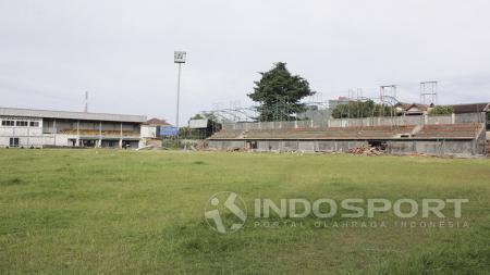 Renovasi Stadion Merpati, Depok - INDOSPORT