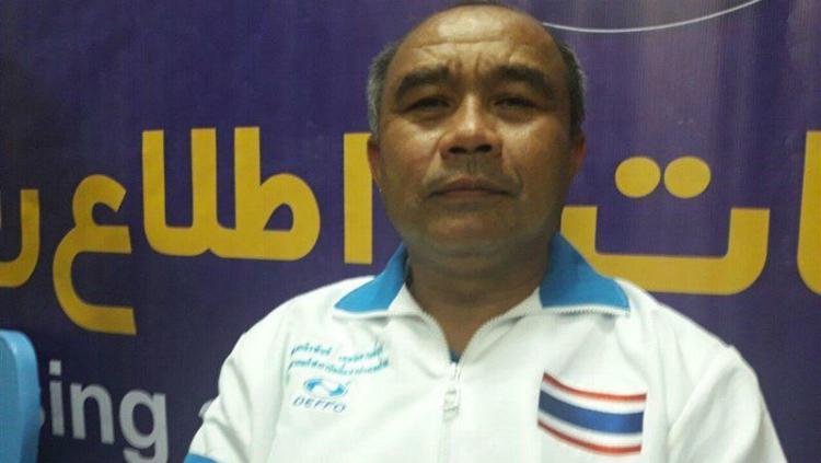 Pelatih Kabaddi Thailand. Copyright: Twitter