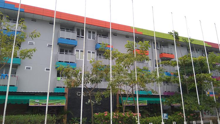 Perkampungan atlet Palembang bersiap menyambut Asian Games 2018. Kawasan akan rampung Maret 2018. Copyright: Arief Setiadi/INDOSPORT