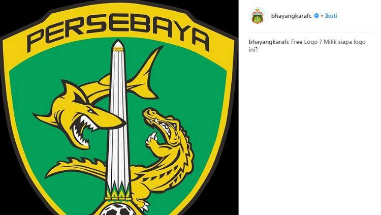 Bhayangkara Fc Minta Maaf Sindir Logo Persebaya Indosport Akun Resmi