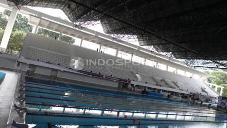 Di Stadion Aquatic baru ini akan diselenggarakannya test event bertajuk Indonesia Open Aquatics Chamopionship 2017.