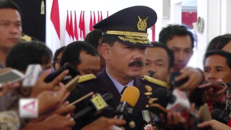 Hadi Tjahjanto ditunjukan presiden Jokowi untuk jadi panglima TNI. Copyright: Istimewa