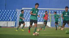 Indosport - Adam Alis Latihan Perdana di Sriwijaya FC.