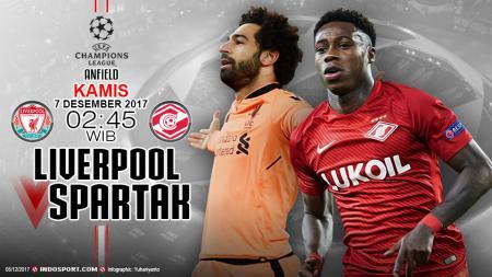 Prediksi Liverpool vs Spartak Moscow - INDOSPORT