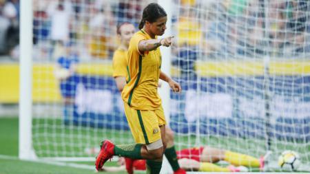 Bintang Timnas Australia, Samantha Kerr ternyata seorang pecinta alam - INDOSPORT