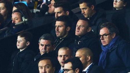 Ditemani Michael Carrick, Wayne Rooney menonton laga MU vs CSKA - INDOSPORT