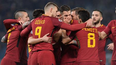 AS Roma vs Qarabag FK - INDOSPORT