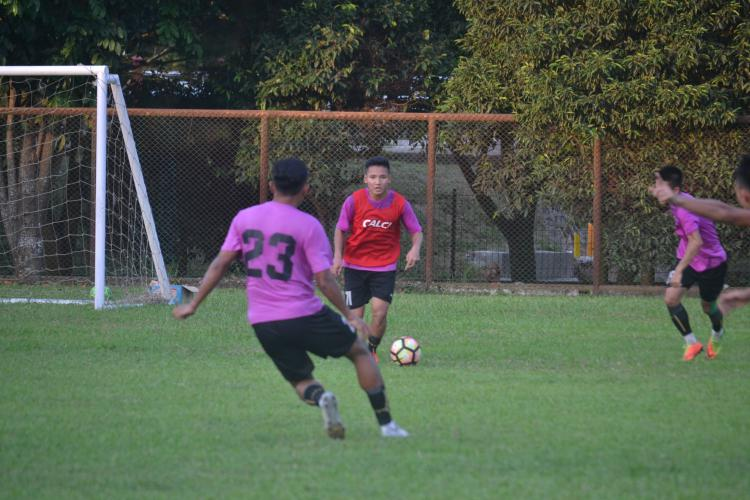 Latihan Tim Srwijaya FC Copyright: INDOSPORT