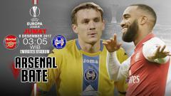 Indosport - Prediksi Arsenal vs Bate.