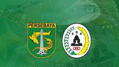 Indosport - Logo Persebaya Surabaya vs PSS Sleman.