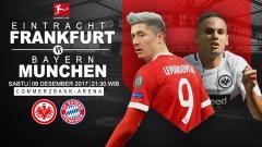 Indosport - Prediksi Eintracht Frankfurt vs Bayern Munchen.