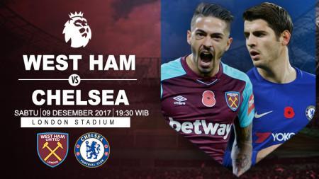 Prediksi West Ham United vs Chelsea. - INDOSPORT