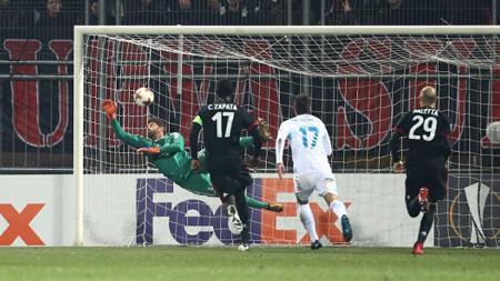 Mengenang kisah HNK Rijeka, salah satu klub raksasa Kroasia yang bakal diperkuat Brylian Aldama, saat sukses menumbangkan AC Milan di kompetisi Liga Eropa. - INDOSPORT