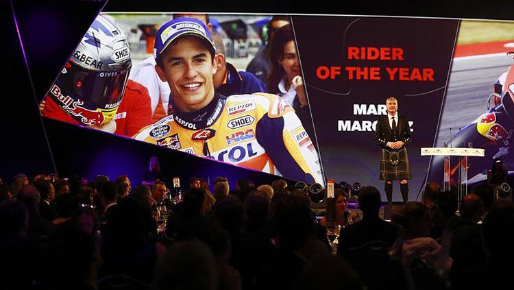 Marc Marquez dinobatkan pembalap motor terbaik tahun 2017 versi Autosport. Copyright: autosport
