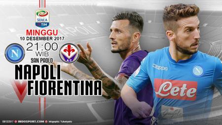 Prediksi Napoli vs Fiorentina. - INDOSPORT