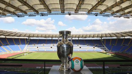 Trofi EURO 2020 di Stadion Olimpico, Roma. - INDOSPORT