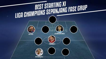 Best starting XI Liga Champions sepanjang fase grup. - INDOSPORT