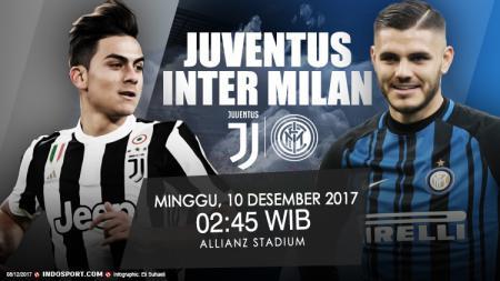 Prediksi Juventus vs Inter Milan. - INDOSPORT