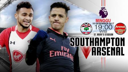 Prediksi Southampton vs Arsenal. - INDOSPORT
