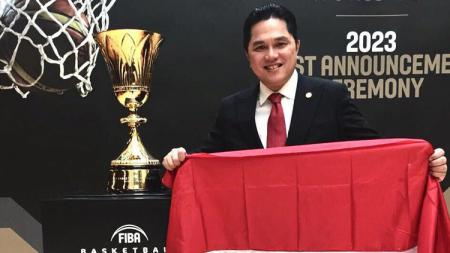 Ketua Komite Olimpiade Indonesia (KOI), Erick Thohir, berharap Indonesia bisa lebih mempersiapkan diri jika ingin menjadi tuan rumah Olimpiade 2032. - INDOSPORT