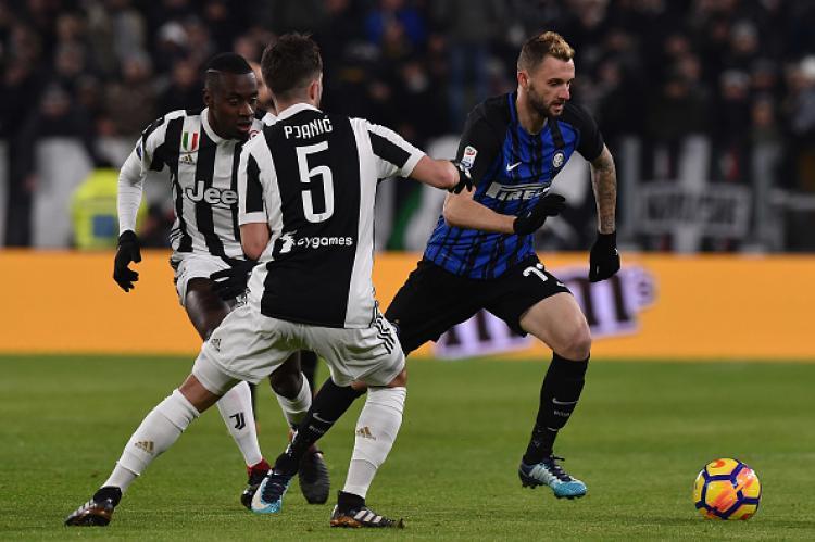 Juventus vs Inter Milan. Copyright: INDOSPORT