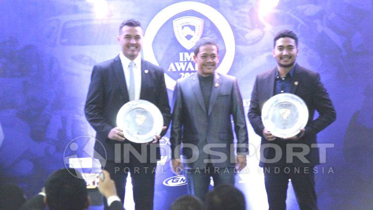 Rifat Sungkar hadiri IMI Award 2017. Copyright: INDOSPORT/Annisa.H