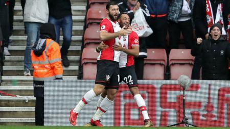 Southampton versus Arsenal. - INDOSPORT