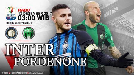 Prediksi Inter Milan vs Pordenone. - INDOSPORT