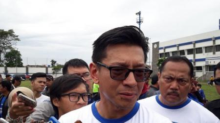Direktur PT Persib Bandung Bermartabat (PT PBB), Teddy Tjahjono. - INDOSPORT