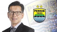 Indosport - Direktur PT Persib Bandung Bermartabat (PT PBB), Teddy Tjahjono.