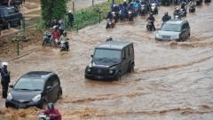 Indosport - Ilustrasi Banjir.