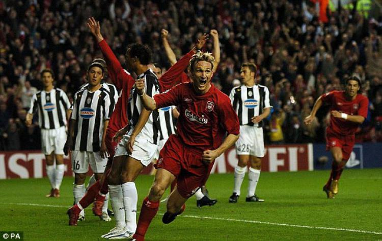 Juventus vs Liverpool Copyright: Daily Mail