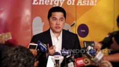 Indosport - Ketua umum INASGOC, Erick Tohir