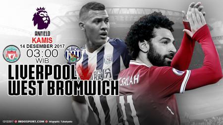 Prediksi Liverpool vs West Bromwich Albion - INDOSPORT
