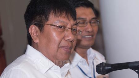Presiden Persiba Balikpapan, Gede Widiade. - INDOSPORT
